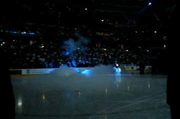 Cryo co2 jets on ice surface