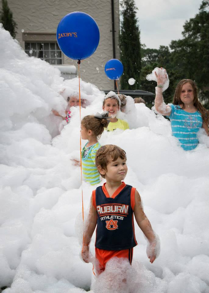 foam machine party