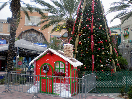 snow machines at channelside tampa florida