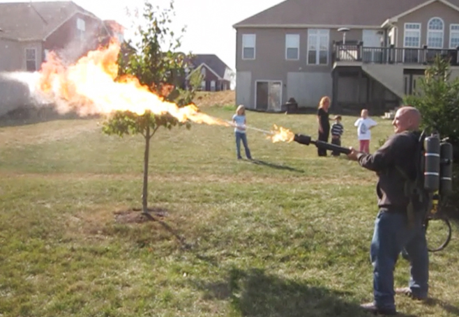 flame thrower FX