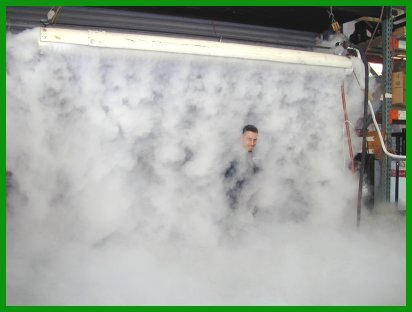 CO2 Cyro Fog Curtain