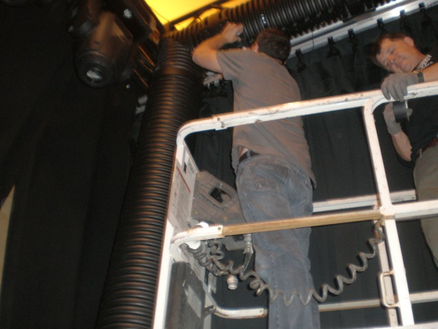 lsg cryo duct for curtain UP