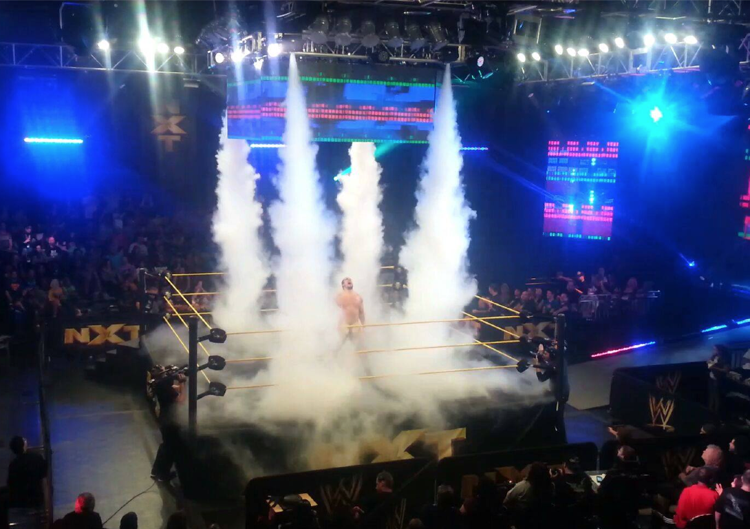 cryo co2 jet effect WWE